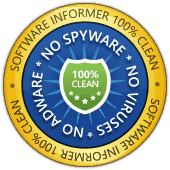 Software Informer Virus Free award