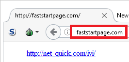 faststartpage.com get rid of it