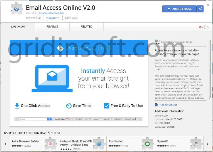 remove Email Access Online V2.0