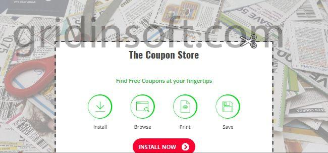 remove thecouponstore.co thecouponstore.co