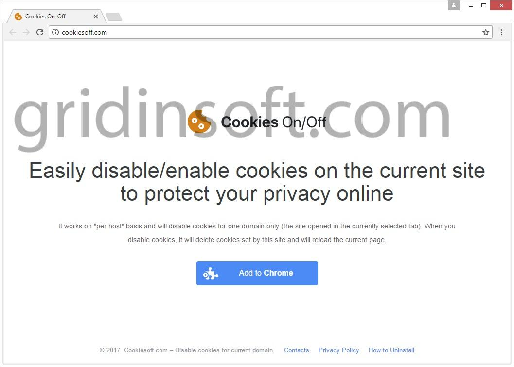 remove Cookies On-Off Cookies On Off