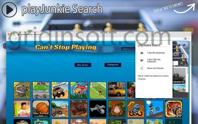remove PlayJunkie Search PlayJunkie Search