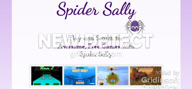 remove Spider Sally Spider Sally
