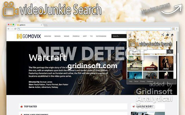remove VideoJunkie Search