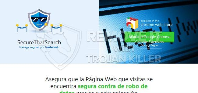 remove SecureThatSearch