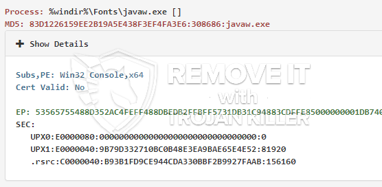 FIXED!] javaw.exe trojan miner. How to Remove javaw.exe