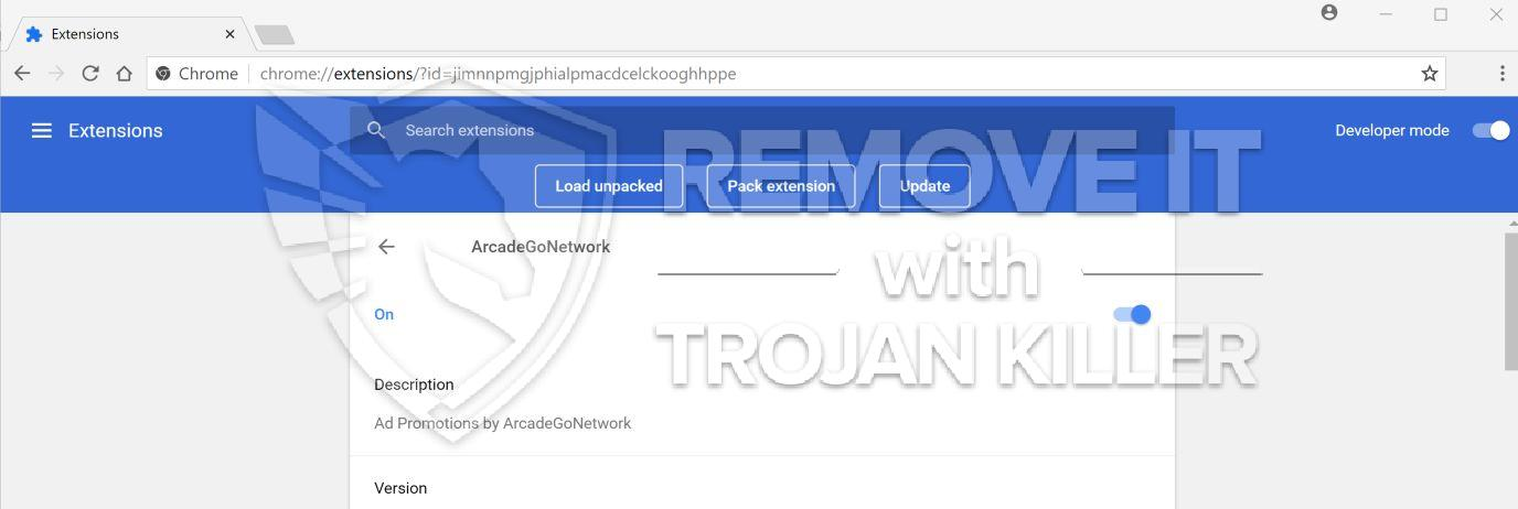 remove ArcadeGoNetwork
