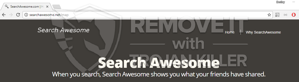 remove searchawesome.net