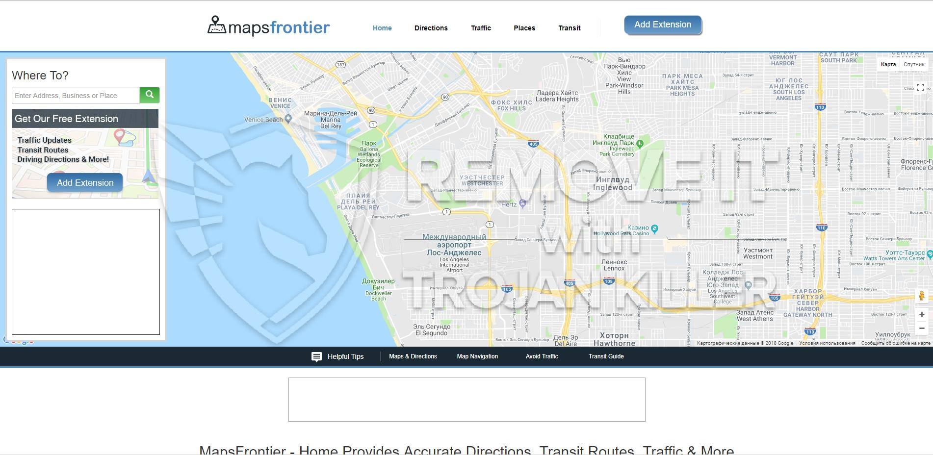 remove MapsFrontier Offers