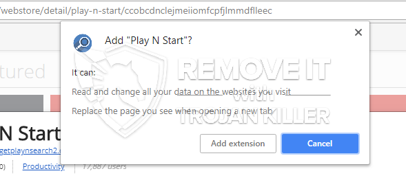 remove Play N Start