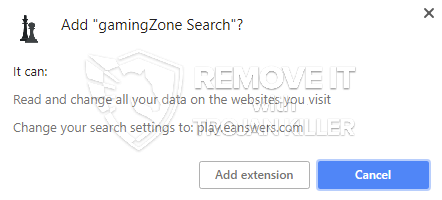remove gamingZone Search