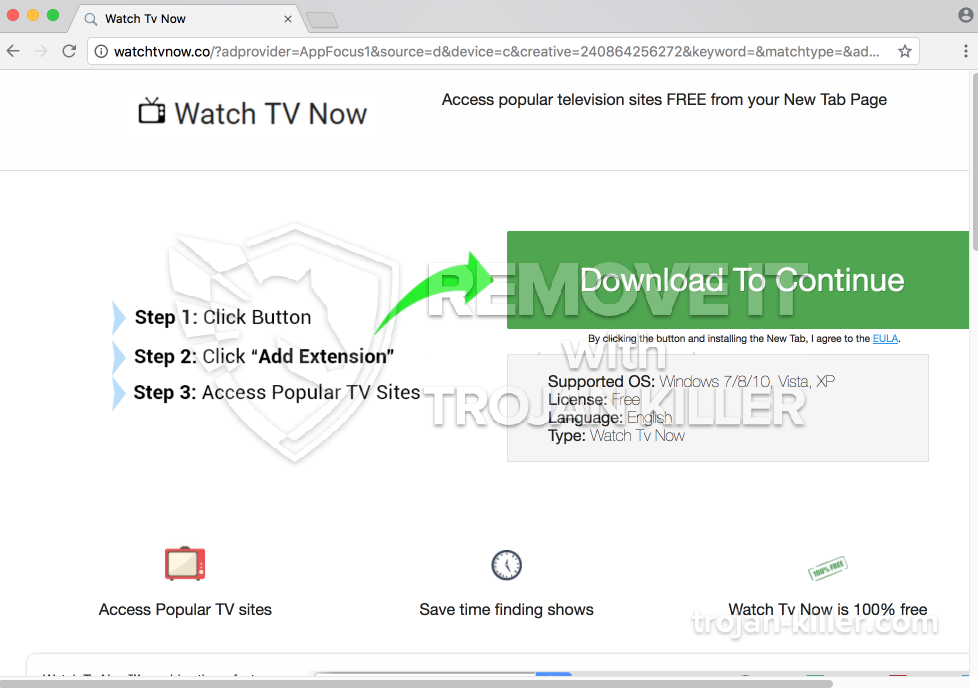 remove Watchtvnow.co