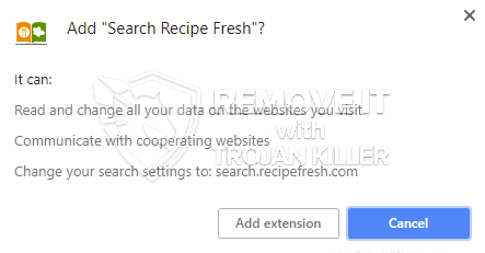 remove Search Recipe Fresh