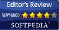 Very Good Editor's Review by Softpedia