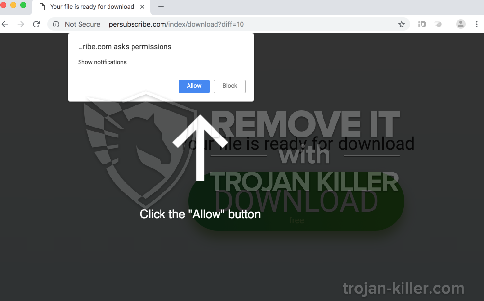 remove Persubscribe.com