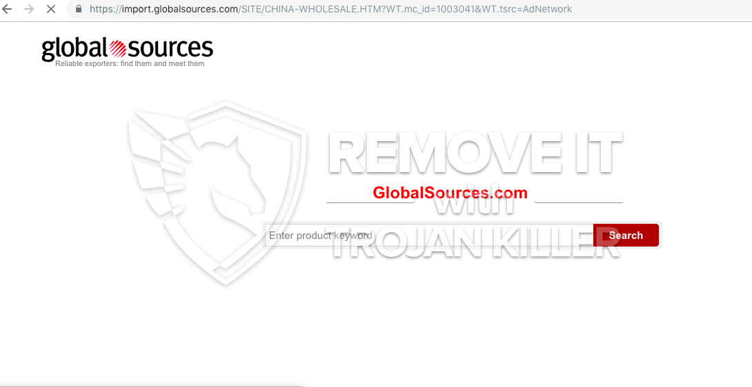 remove Import.globalsources.com