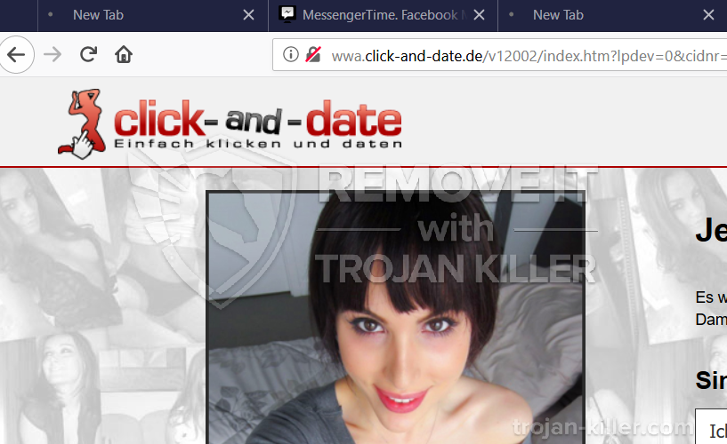 remove Click-and-date.de